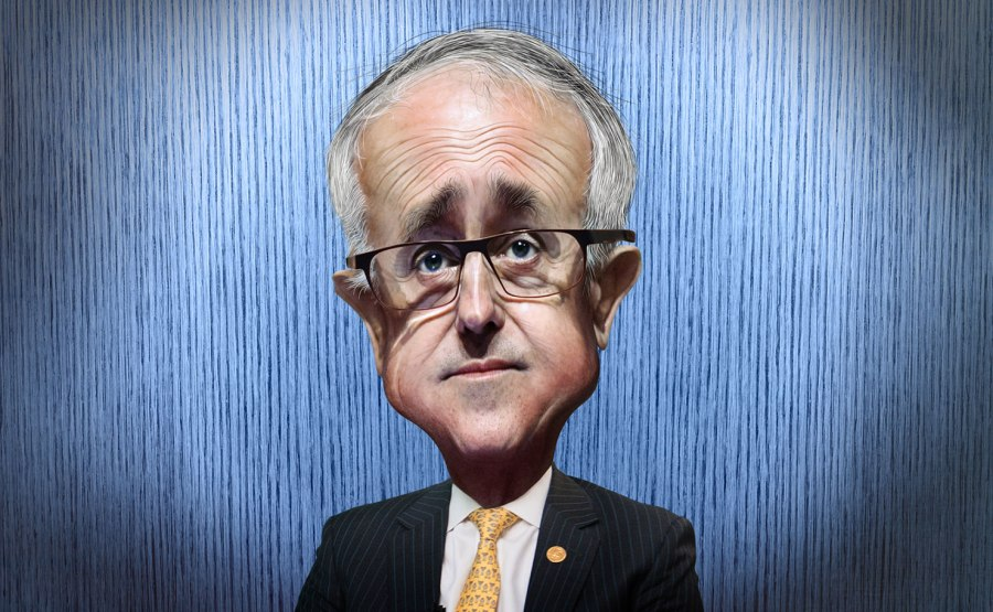Malcolm-Turnbull-cariacature